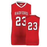 Replica Red Adult Basketball Jersey-#23