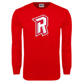 Red Long Sleeve T Shirt-R Mark