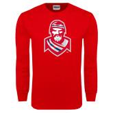 Red Long Sleeve T Shirt-Highlander