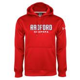 Under Armour Red Performance Sweats Team Hoodie-Grandpa