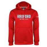 Under Armour Red Performance Sweats Team Hoodie-Baseball