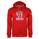 Under Armour Red Performance Sweats Team Hoodie-Soccer Design