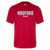 Performance Red Tee-Mom