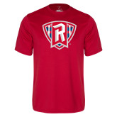 Performance Red Tee-R in Shield