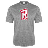 Performance Grey Heather Contender Tee-R Mark