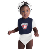 Navy Baby Bib-Primary Mark