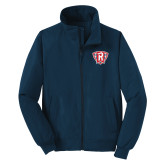 Navy Charger Jacket-R in Shield