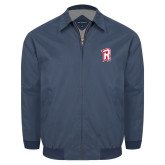 Navy Players Jacket-R Mark