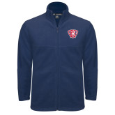 Fleece Full Zip Navy Jacket-R in Shield