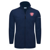 Columbia Full Zip Navy Fleece Jacket-R in Shield