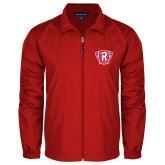 Full Zip Red Wind Jacket-R in Shield