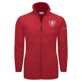 Columbia Full Zip Red Fleece Jacket-R in Shield