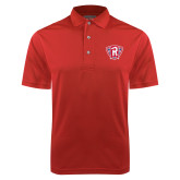 Red Dry Mesh Polo-R in Shield
