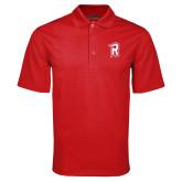 Red Mini Stripe Polo-R Mark