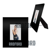 Black Metal 5 x 7 Photo Frame-Radford Wordmark Engraved