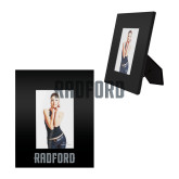 Black Metal 4 x 6 Photo Frame-Radford Wordmark Engraved