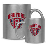 Full Color Silver Metallic Mug 11oz-Primary Mark