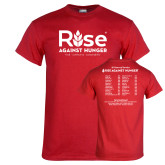 Red T Shirt-Primary Mark w/ Tagline