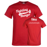 Red T Shirt-Fighting Hunger