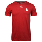 Adidas Climalite Red Ultimate Performance Tee-Icon