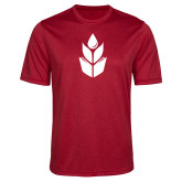 Performance Red Heather Contender Tee-Icon
