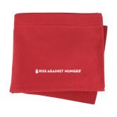 Red Sweatshirt Blanket-Primary Mark Flat