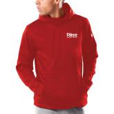 Under Armour Red Armour Fleece Hoodie-Primary Mark
