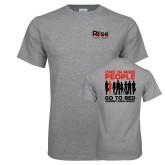 Grey T Shirt-Primary Mark w/ Tagline