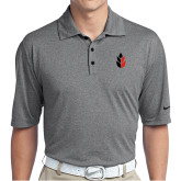 Nike Golf Dri Fit Charcoal Heather Polo-Icon