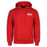 Red Fleece Hoodie-Primary Mark