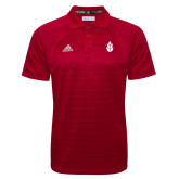 Adidas Climalite Red Jacquard Select Polo-Icon