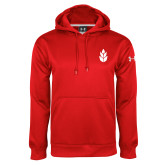 Under Armour Red Performance Sweats Team Hoodie-Icon