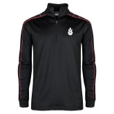 Nike Golf Dri Fit 1/2 Zip Black/Red Pullover-Icon