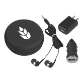 3 in 1 Black Audio Travel Kit-Icon