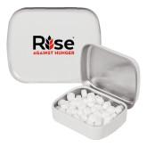White Rectangular Peppermint Tin-Primary Mark