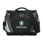 Slope Black/Grey Compu Messenger Bag-Richard Bland Statemen Stacked