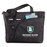 Excel Black Sport Utility Tote-Richard Bland Statemen Stacked