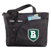 Excel Black Sport Utility Tote-Shield