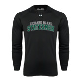 Under Armour Black Long Sleeve Tech Tee-Arched Richard Bland Statesmen