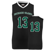 Replica Black Adult Basketball Jersey-#13