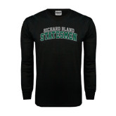 Black Long Sleeve TShirt-Arched Richard Bland Statesmen