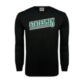 Black Long Sleeve TShirt-Statesmen - Richard Bland College