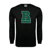 Black Long Sleeve TShirt-RB Stacked