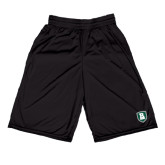 Russell Performance Black 10 Inch Short w/Pockets-Shield
