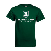 Dark Green T Shirt-Richard Bland Statemen Stacked