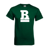 Dark Green T Shirt-RB Stacked