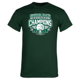 Dark Green T Shirt-2015 Basketball Champions