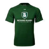 Under Armour Dark Green Tech Tee-Richard Bland Statemen Stacked