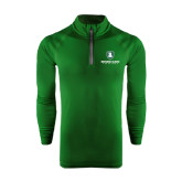 Under Armour Dark Green Tech 1/4 Zip Performance Shirt-Richard Bland Statemen Stacked