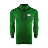 Under Armour Dark Green Tech 1/4 Zip Performance Shirt-Shield